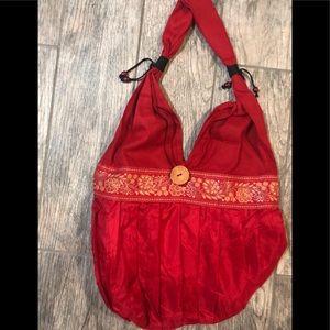 Handbags - Brand new boho bag red